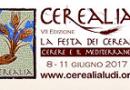"""Cerealia 2017 – """"NELLA TERRA DI CERERE"""" – I cereali: arti e professioni, identità e culture"""